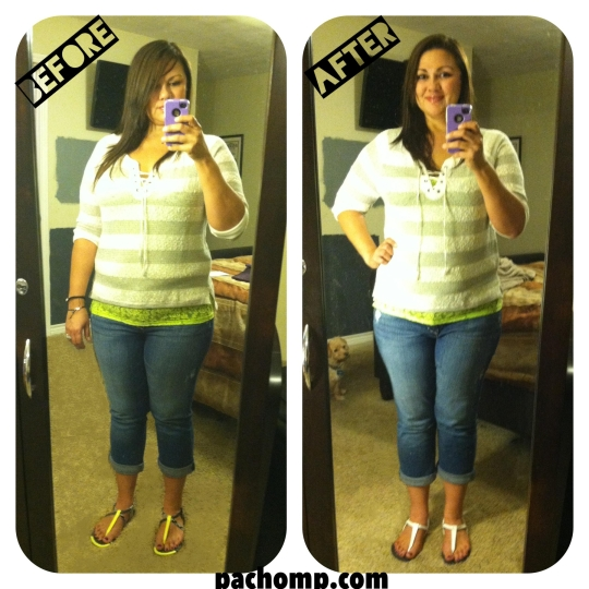 I lost 5.5 lbs on the Advocare 10 Day Cleanse pachomp.com